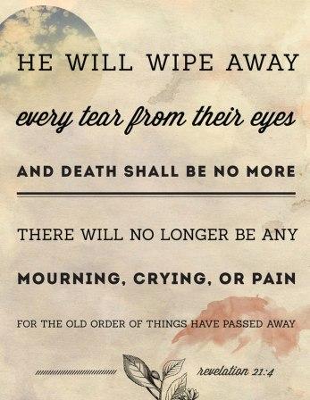 inspirational scripture revelations 21 4 prairie grove arkansas